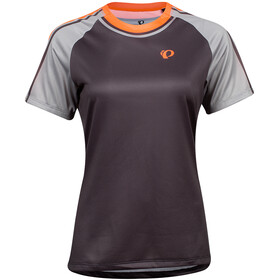 PEARL iZUMi Summit T-shirt Dames, phantom/fiery coral aspect